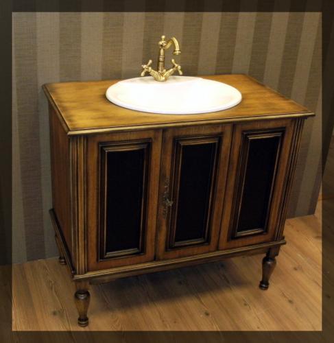 Restauruotas Vonios baldas