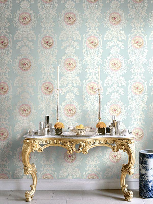 Klasikiniai tapetai English Rose