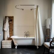 vonios užuolaidos karnizas