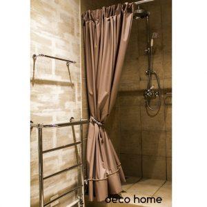 Dušo Vonios užuolaida 300cm su dekoru