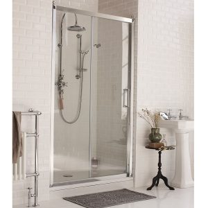 Burlington stumdomos dušo durys