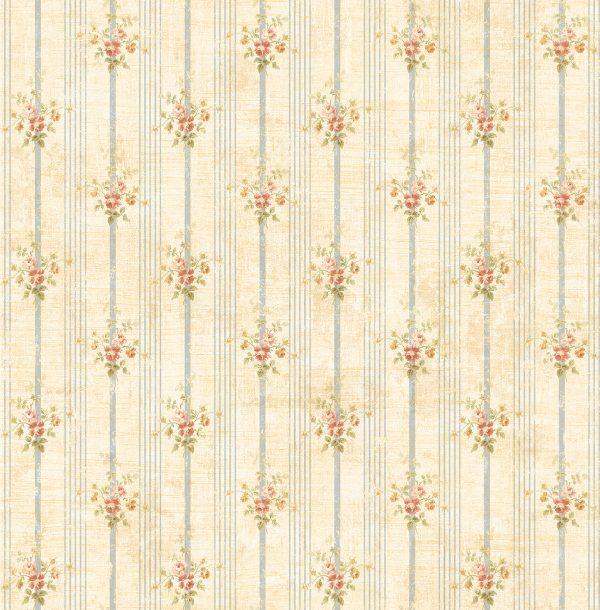 Smulkių gėlių tapetai AC41107