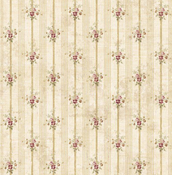 Smulkių gėlių tapetai AC41111