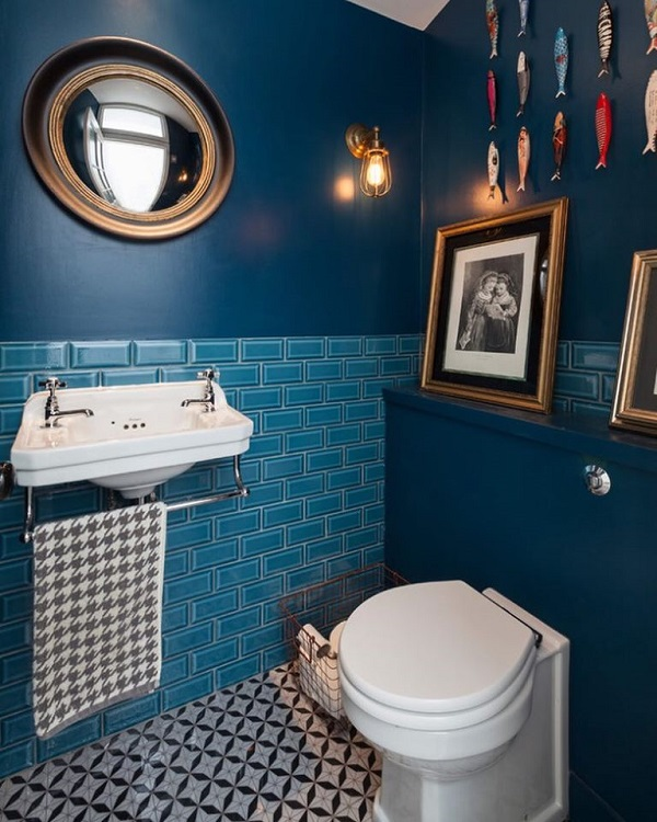 Mažas vonios kambarys