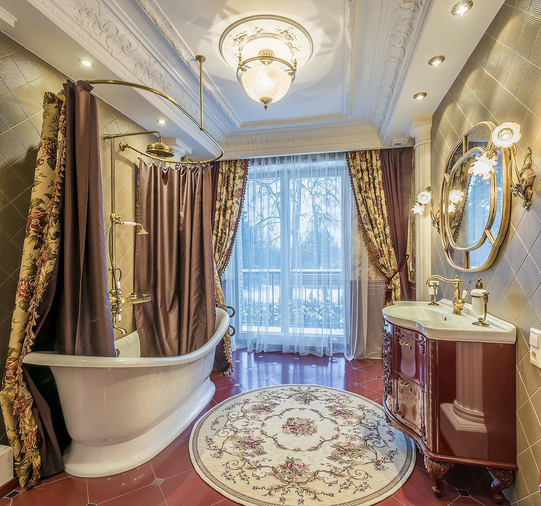 Retro vonios kambarys vonios aksesuarai