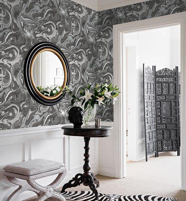 Modernios klasikos tapetai Charleston