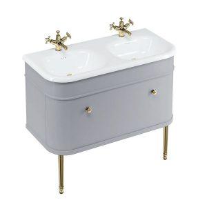 Vonios baldas Chalfont Gold 100cm